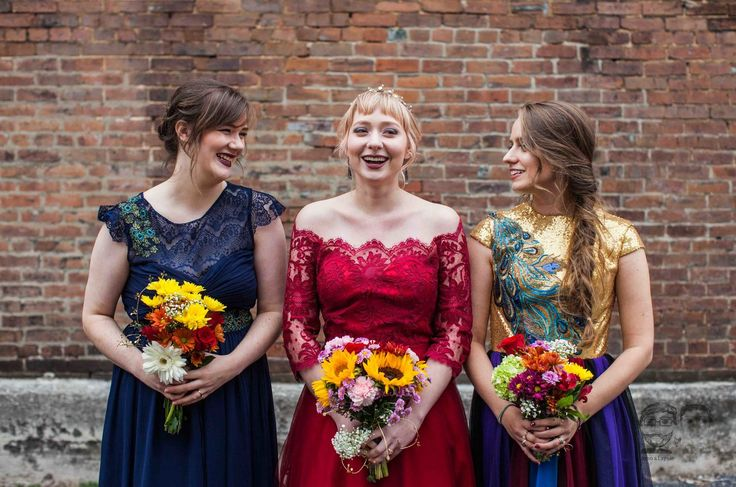 Cheap Wedding Gowns Toronto: 1000+ Ideas About Bright Bridesmaid Dresses On Pinterest