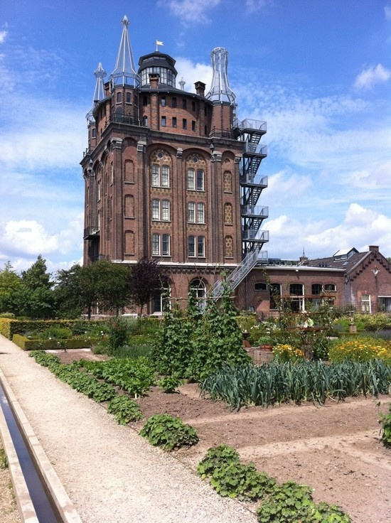 amazing hotel in a old water tower, Villa Augustus, Dordrecht, Netherlands