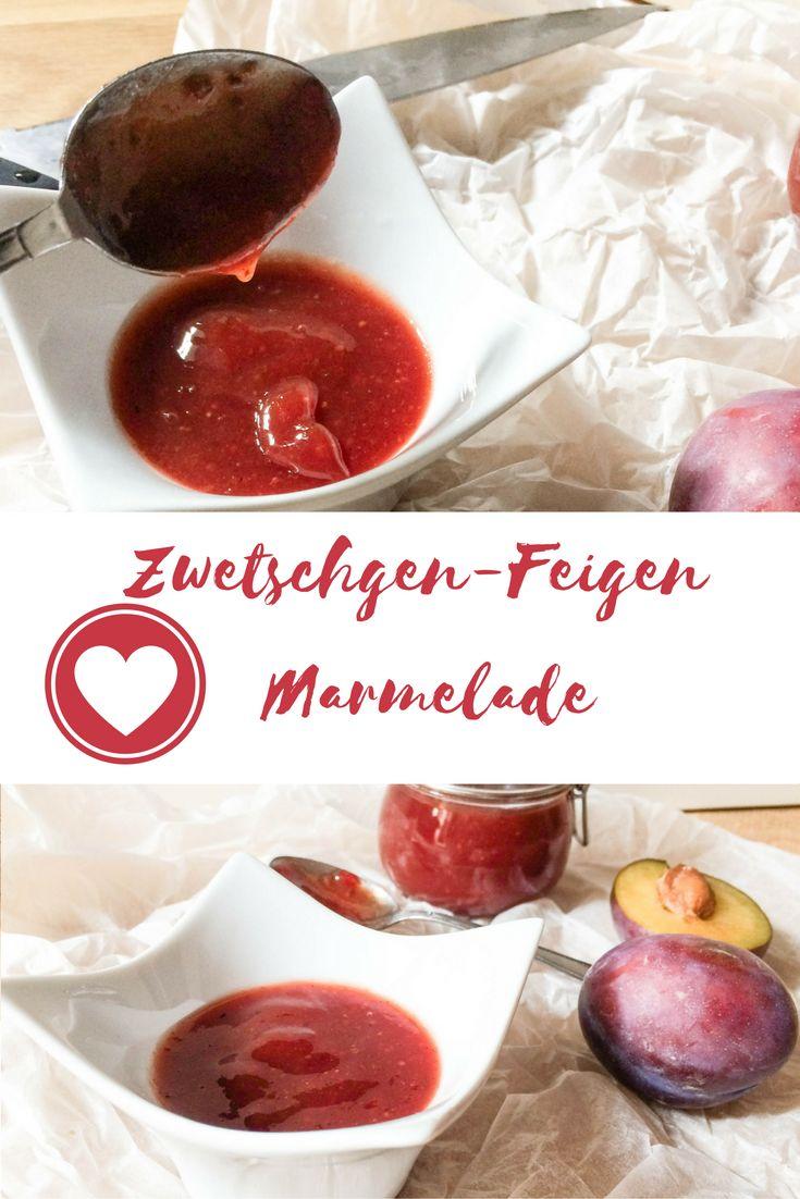 Zwetschgen Feigen Marmelade
