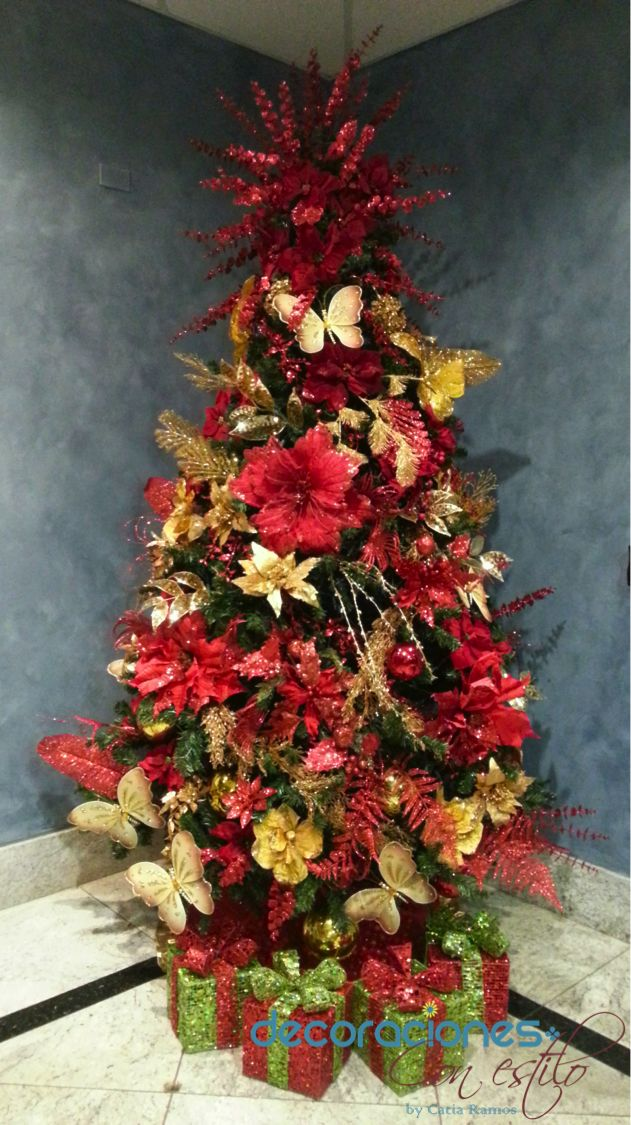 1000 images about christmas time on pinterest - Arboles de navidad decorados 2013 ...