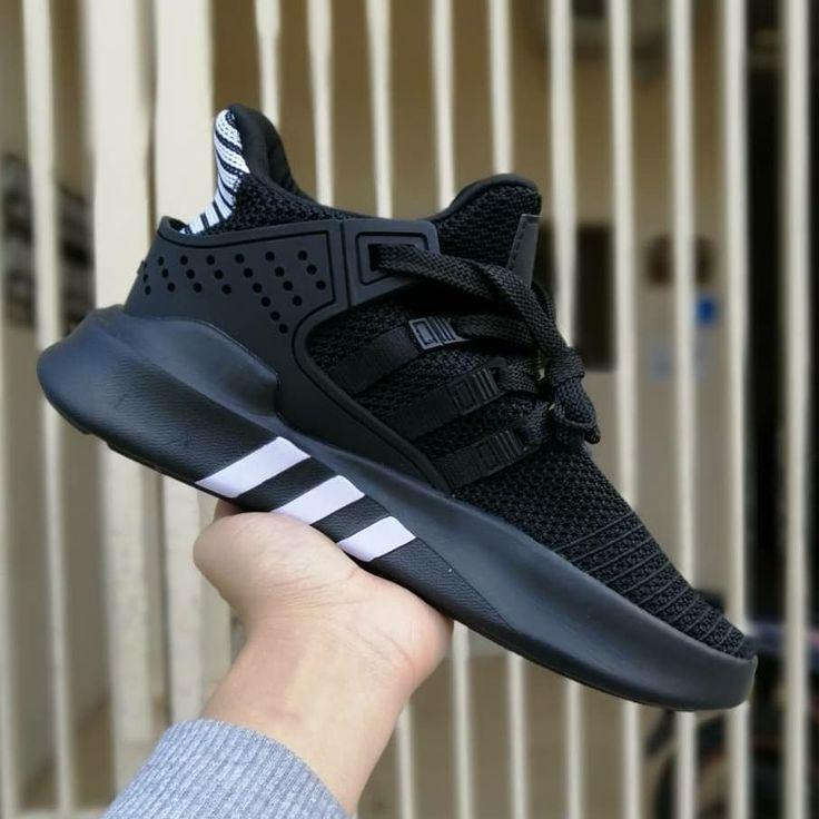 Slide To Detail Adidas Eqt Bask Adv Triple Black