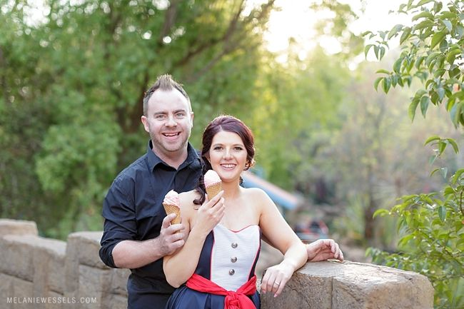 Andy & Lauri | Gold Reef City Engagement | Melanie Wessels Photography
