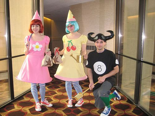 Animal Crossing Group by kC Katastrophe, via Flickr