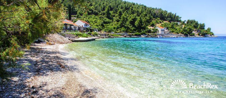 Beach Babina - Blato - Island Korčula - Dalmatia - Dubrovnik - Croatia