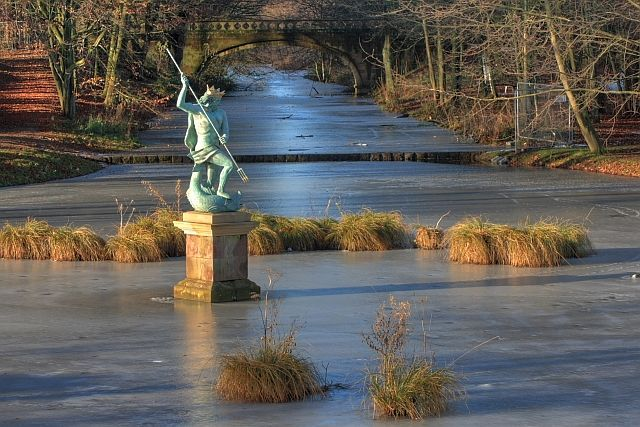 Statue of Neptune, Hardwick Hall Country Park, Sedgefield, Co. Durham