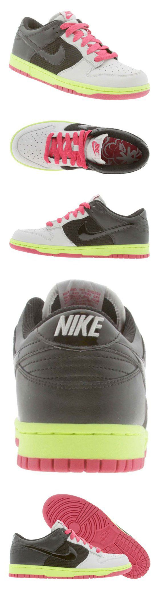 $237.51 - [317813-004] NIKE DUNK LOW WOMENS SHOES NEUTRAL GREY/BLACK-BERRY-VOLT. #shoes #nike #2011