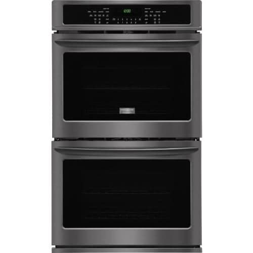Frigidaire FGET3065P 30 Electric Double Wall Oven with Quick Preheat, Effortless Convection, and Power Broil