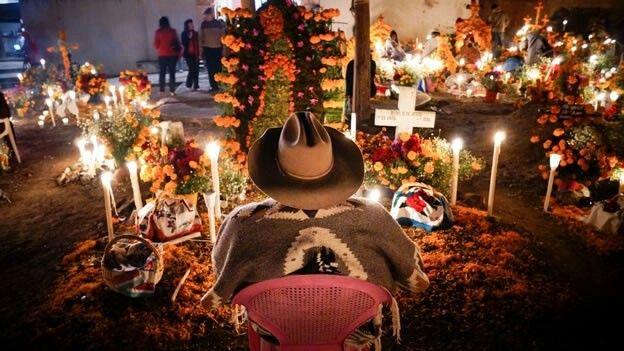 2 de Noviembre, así celebramos el día de muertos. México.
