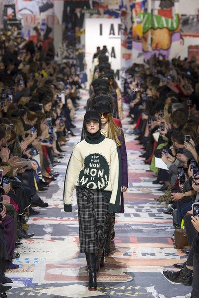 The complete Christian Dior Fall 2018 Ready-to-Wear fashion show now on Vogue Runway.
