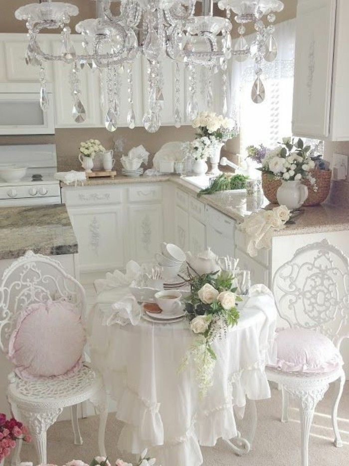 les 25 meilleures id es de la cat gorie cuisine shabby chic sur pinterest meubles shabby chic. Black Bedroom Furniture Sets. Home Design Ideas