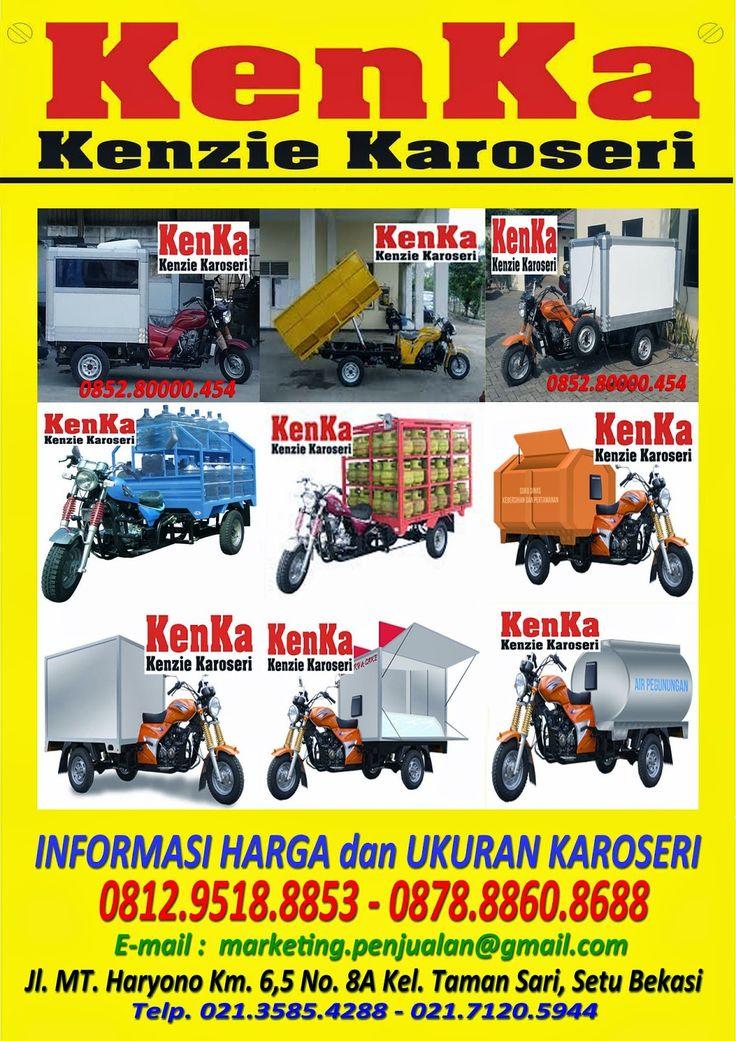 KAROSERI MOTOR RODA TIGA >> KAROSERI KENKA