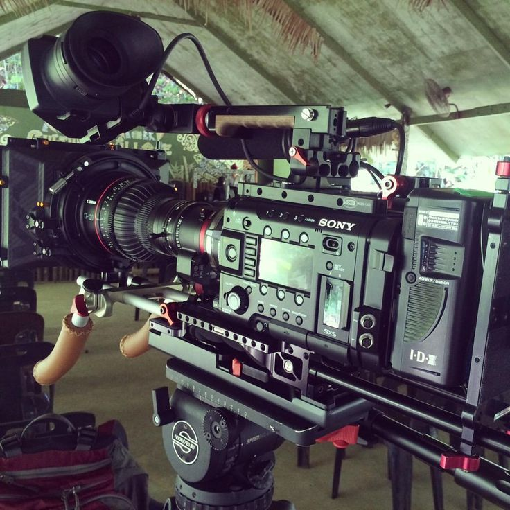 """#RIGSHOTS @focuspulling: """"My Canon #17-120 Sony #F55 on a doc shoot"""" by @benjamin_emery"""