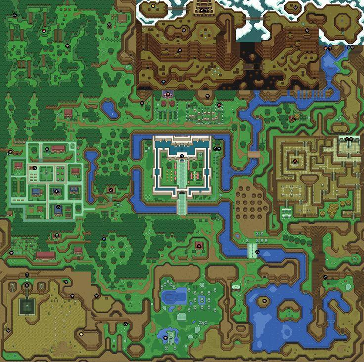 Zelda Map - HTML 5