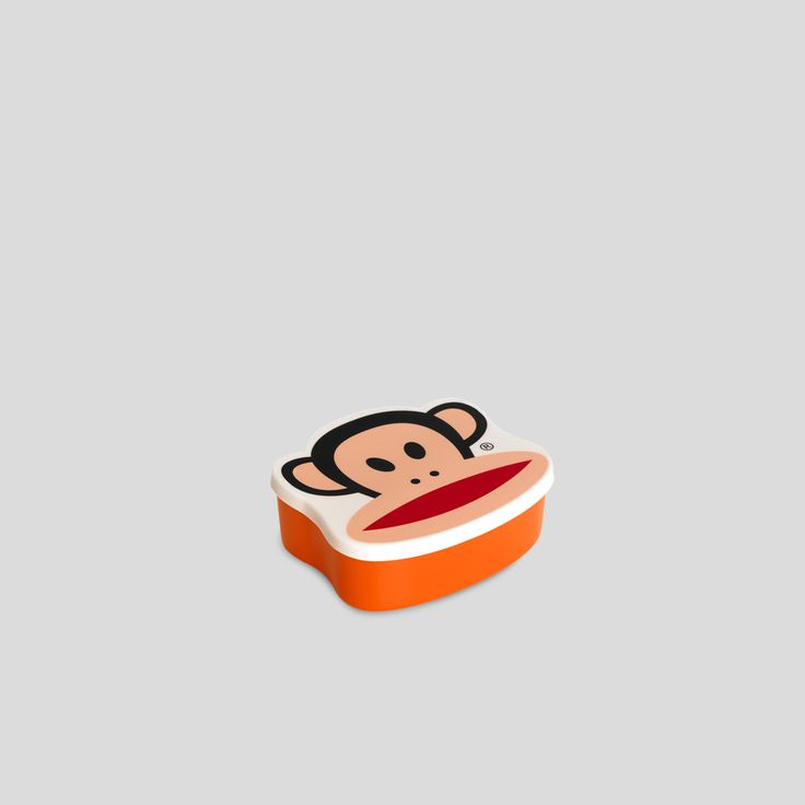 PAUL FRANK, Tiny storage box, orange, Design by Room Copenhagen