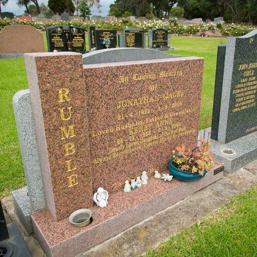 Bronze Headstones