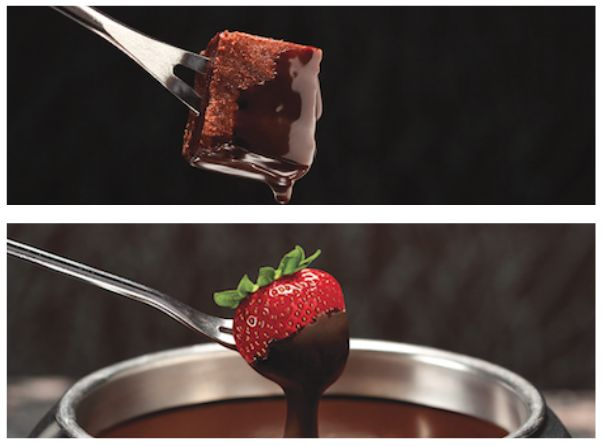 Fondue Fanatics Friday Faceoff! We all know our delectable dippers are the perfect complement to any pot of chocolate fondue, but which chocolate fondue dippers do you enjoy more, the sweets (brownies, pound cake, etc.) or the fruits? Comment below with your choice and you'll be entered into a random drawing for a chance to win a $100 Melting Pot gift card! The winner will be announced Monday morning. http://www.pinterest.com/AnnaCoupons/melting-pot-coupons/ Melting Pot Coupons