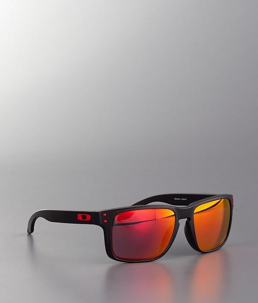 Oakley - Ducati Holbrook Solglasögon Matte Black/Ruby Iridium