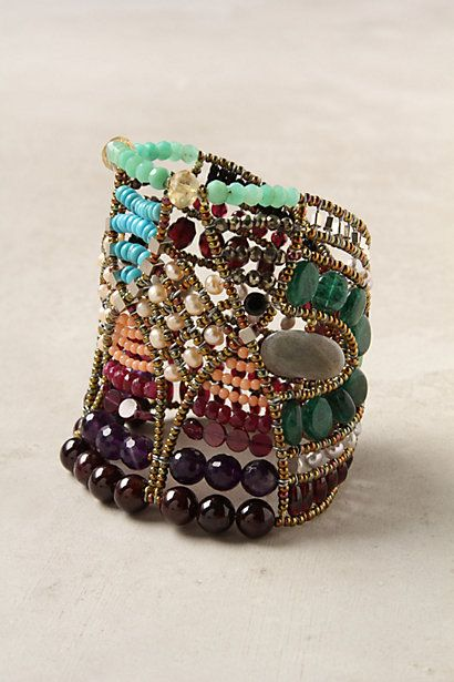 : Stones Bracelets, Stones Cuffs, Bracelets Jewelry, Jewelry Inspiration, Paradis Stones, Beads Cuffs Bracelets, Anthropologie Com, Jewels Tones, Paradise Stones