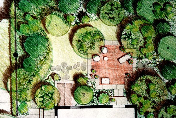 Residential tuin ontwerp pinterest lawn and design - Bassin tuin ontwerp ...