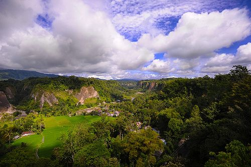 Sianok Canyon. Sianok Canyon located at Bukittinggi West Sumatra Indonesia