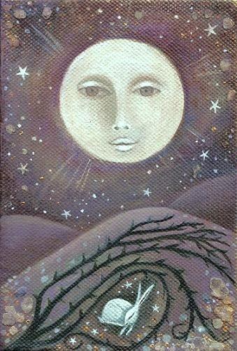 moon bunny #ostara #easter