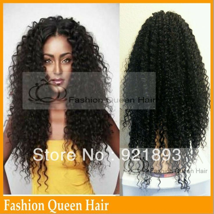 Free Shipping Glueless Full Lace Wigs Brazilian Virgin Hair Full Lace Curly Human Hair Wigs For African Americans $155.00 - 296.00 !!