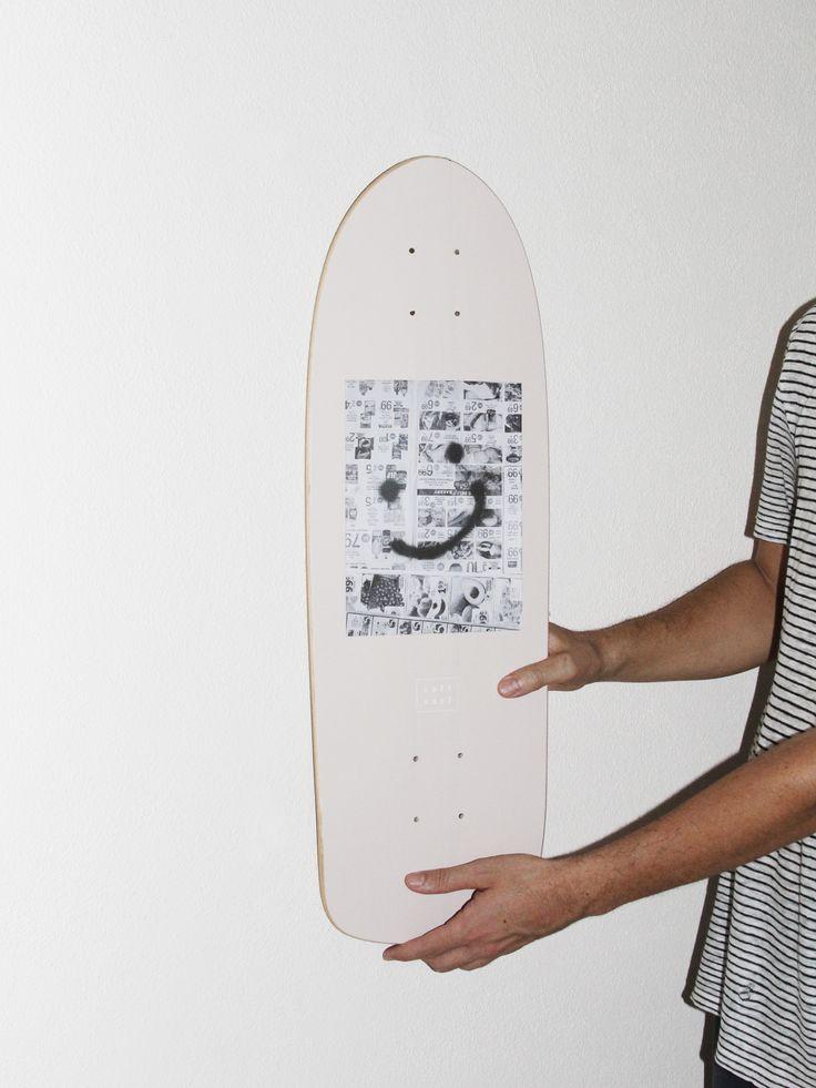 The SALT SURF Good News Skateboard Deck. Now available at saltsurf.com
