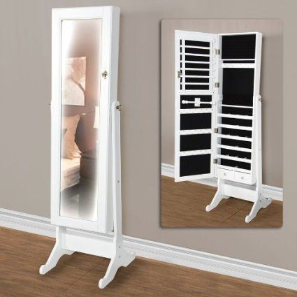 Mirror Jewelry Storage, Mirror With Jewelry Storage Target