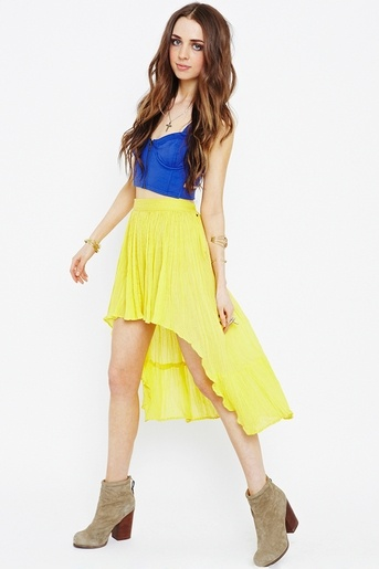 169 best high low dresses images on skirts