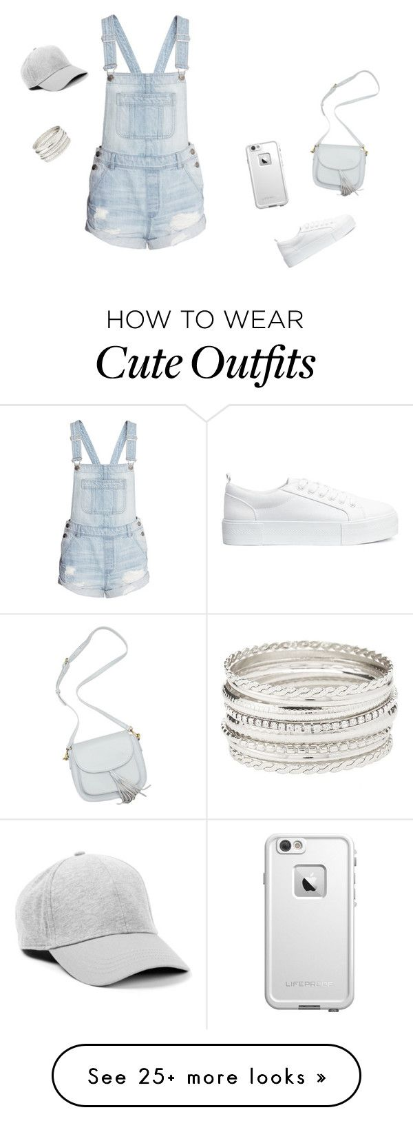 """Comfortable and cute outfit"" by stylefashion04 on Polyvore featuring H&M, LifeProof and Charlotte Russe"