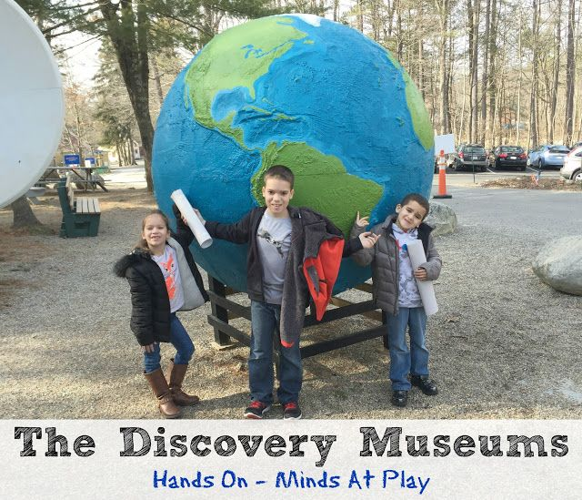 The Discovery Museums in Acton, Ma. ~ Hands on Minds at Play!