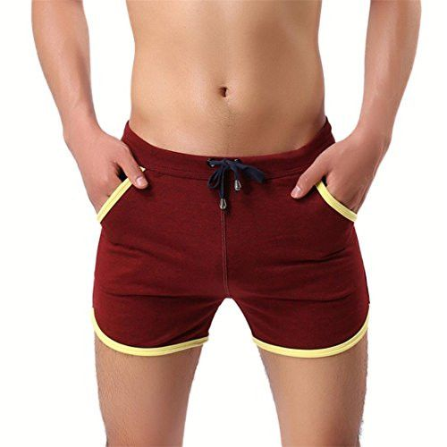 Men'S Cotton Casual Pants Fitness Pants Beach Pants Swimming Pants Hot  Springs Shorts With Pockets