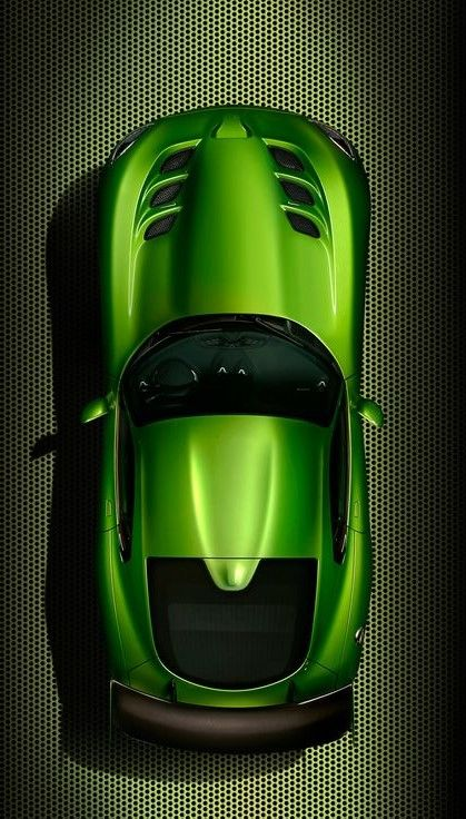SRT Viper - new Stryker Green paint. Viper w green viper...Shut up and take my pin!