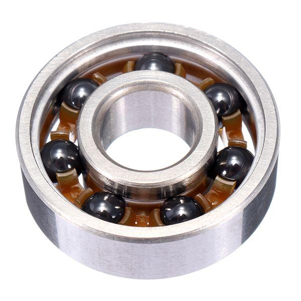 608 8x22x7mm Ball Bearing Hybrid Ceramic Balls Stainless Steel Bearing Steel For Fidget Spinner Steel Ceramics Stainless Steel