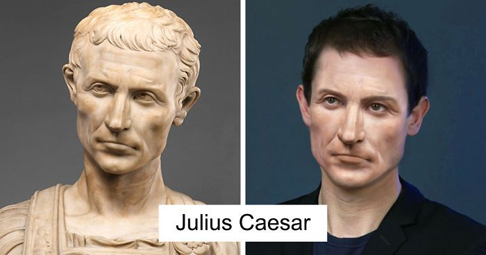 Here S What Julius Caesar And Others Would Look Like Today 30 Pics In 2020 Julius Caesar Famous Historical Figures Young Queen Victoria