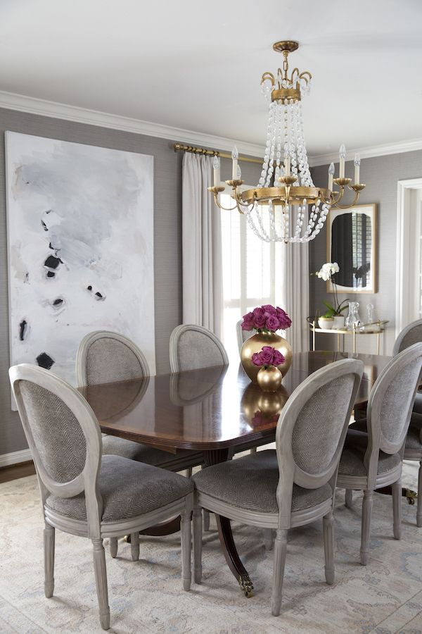 Modern Traditional Dining Room1590 In 2020 Family Room Design