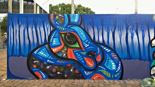 Graffiti realizado na pista de skate da praça do Pec em Mirassol - SP .  #guimnomo #cenoracoletivo #mirassol #graffiti #arte #arteurbana #streetart #tinta