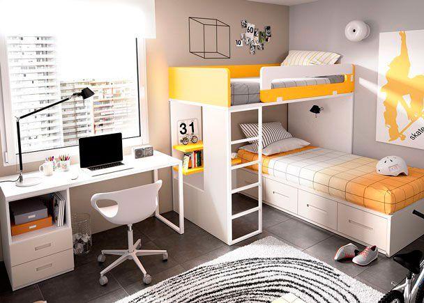 Dormitorio Infantil con Literas 203-3092015