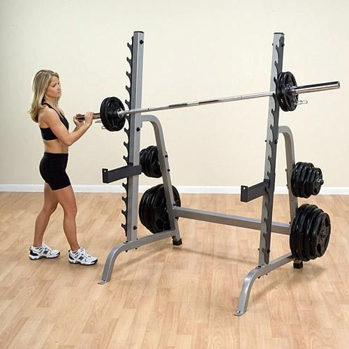 The Fitness Outlet - BodySolid GPR370 Multi Press Squat Rack, $550.00 (http://thefitnessoutlet.com/bodysolid-gpr370-multi-press-squat-rack/)