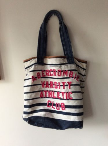 Womens #abercrombie & #fitch #beach tote bag ,  View more on the LINK: 	http://www.zeppy.io/product/gb/2/162220894625/