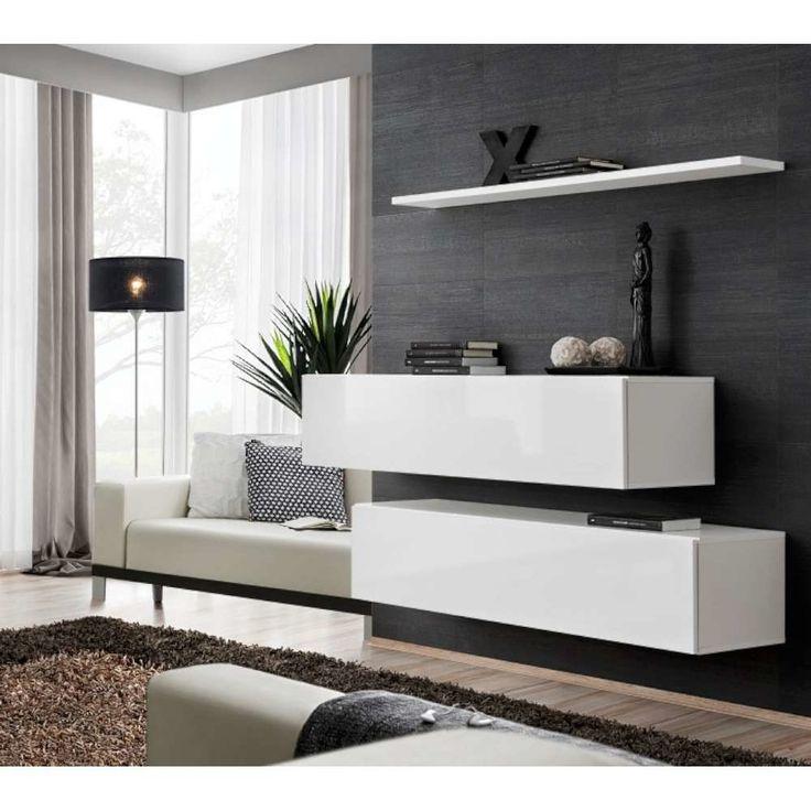 Wohnzimmermöbel weiß matt  The 25+ best Wohnwand weiß matt ideas on Pinterest | Küche weiß ...