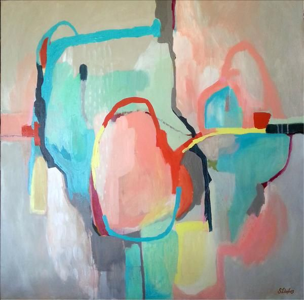 'Heart Bright' original by Sarina Diakos