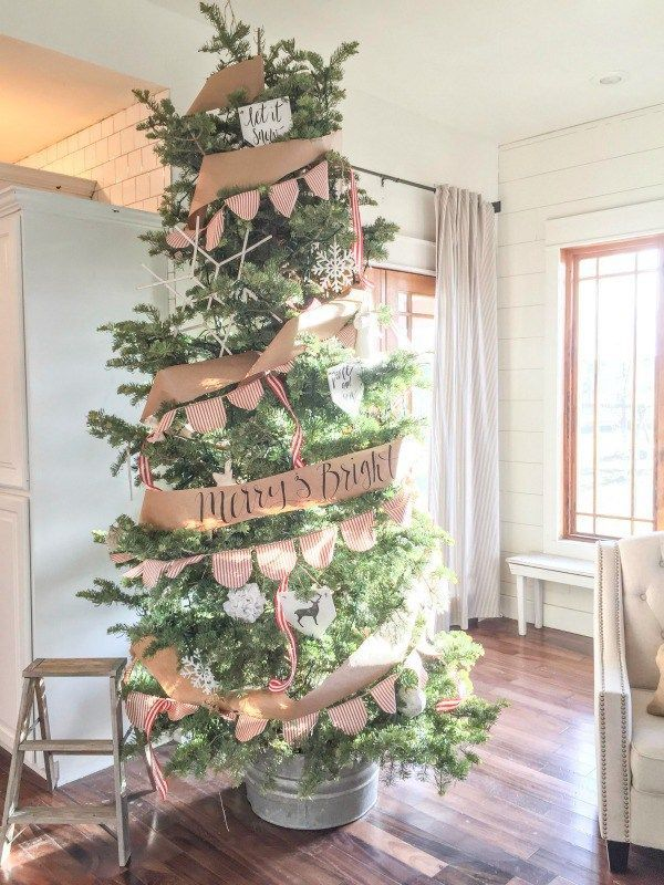 Fan Of Farmhouse Style Check Out This Farmhouse Christmas Home Tour