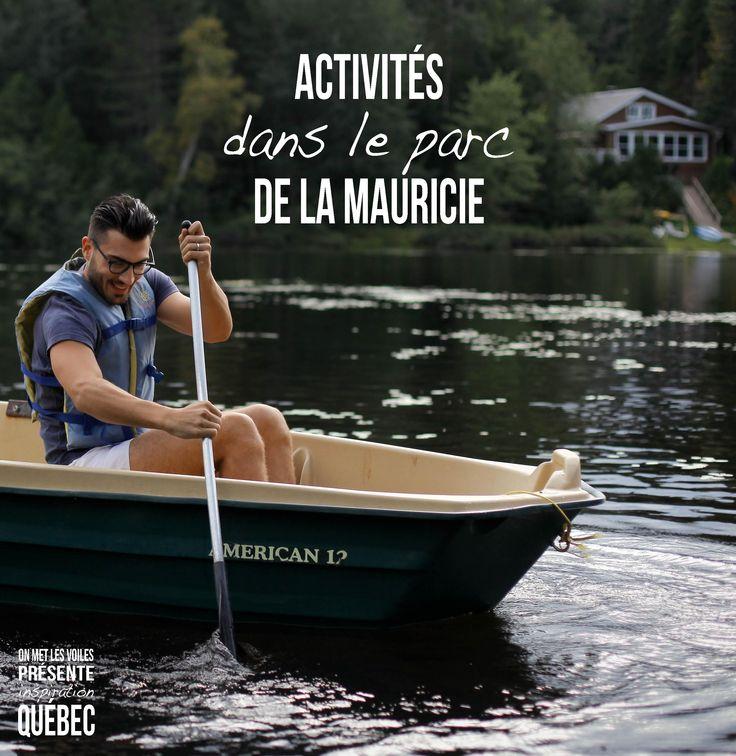 Découvrer les activités possibles pour découvrir le parc de la Mauricie sur le blog ;)