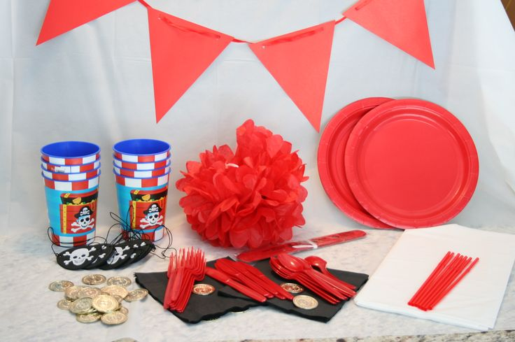 all you need for a perfect pirate party!