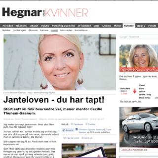 Min gjestekommentar, 19.06.12: http://www.hegnar.no/kvinner/livsstil/article696978.ece