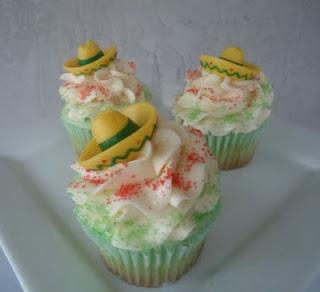 CORONA and LIME Cupcakes
