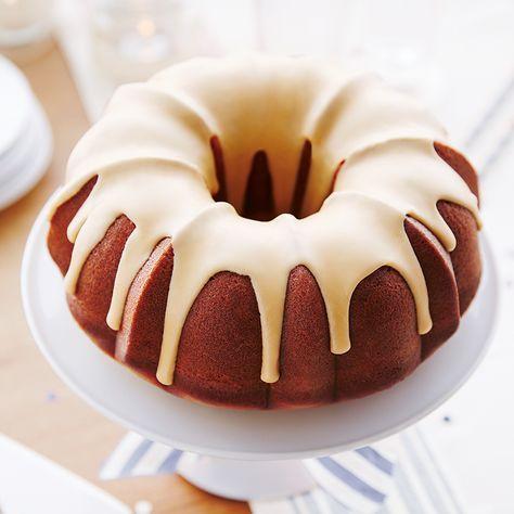 Gâteau-beigne géant à l'érable—Ce gâteau a la texture d'un beigne... format familial!
