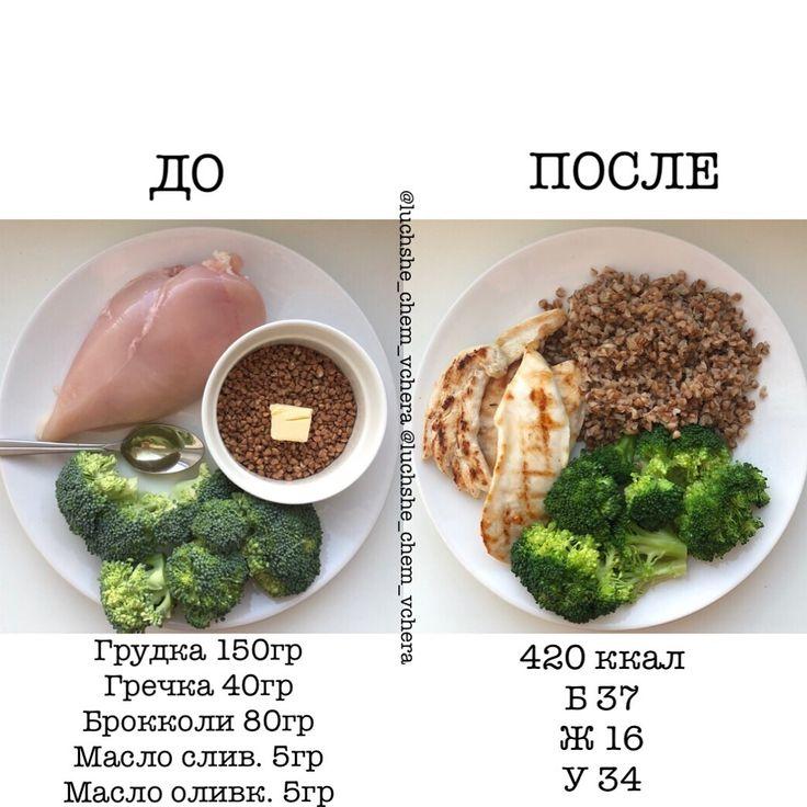 Ужин при похудении варианты