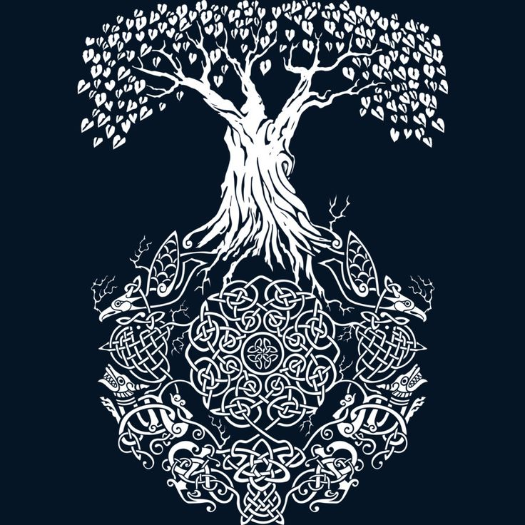 Yggdrasil Tree of Life by Design-By-Humans.deviantart.com on @DeviantArt